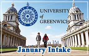 สมัครเรียนต่อปริญญาโทอังกฤษที่University of Greenwich January Intake