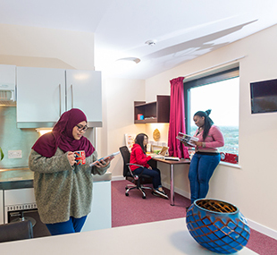 สมัครเรียนต่อปริญญาตรีอังกฤษ Univercity of Leicester - หอพักนักเรียน