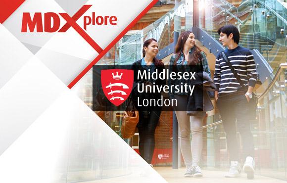 สมัครเรียนต่อปริญญาโท ป.ตรีอังกฤษ Middlesex University เมือง London UK