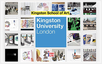 เรียนต่อศิลปะในลอนดอนประเทศอังกฤษ Art 3D Fashion Architecture Portfolio Kingston School of Art Kingston University London UK