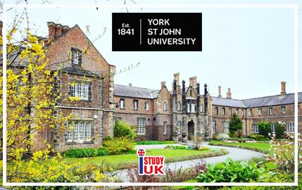 สมัครเรียนต่ออังกฤษ York St John University จบปริญญาตรี ไม่ต้องสอบไอเอิ้ล IELTS