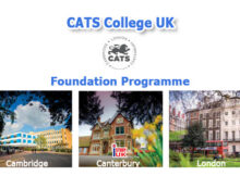 สมัครเรียนต่อ Fast Track Foundation อังกฤษ Foundation อังกฤษ cats college uk london canterbury cambrdige bangkok thailand apply study uk agent istudyuk