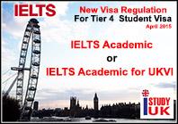 กฎใหม่เกี่ยวกับ IELTS เพื่อสมัครวีซ่านักเรียนอังกฤษ-อัพเดทล่าสุด 2 เมษายน 2558