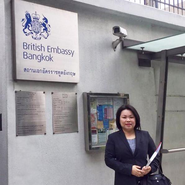 วีซ่านักเรียนอังกฤษ Tier 4 student visa Thailand ติดต่อเอเยนต์เรียนต่อประเทศอังกฤษ I Study UK ผ่านการอบรมความรู้เฉพาะโดย British Council