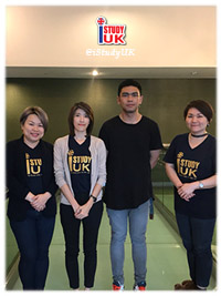 รูปนักเรียนที่ I Study UK ดูแล - เลือกเอเจนซี่เรียนต่ออังกฤษ I Study UK...We focus only UK - 107