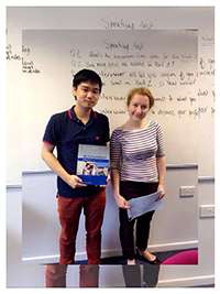 รูปนักเรียนที่ I Study UK ดูแล - เลือกเอเจนซี่เรียนต่ออังกฤษ I Study UK...We focus only UK - 62