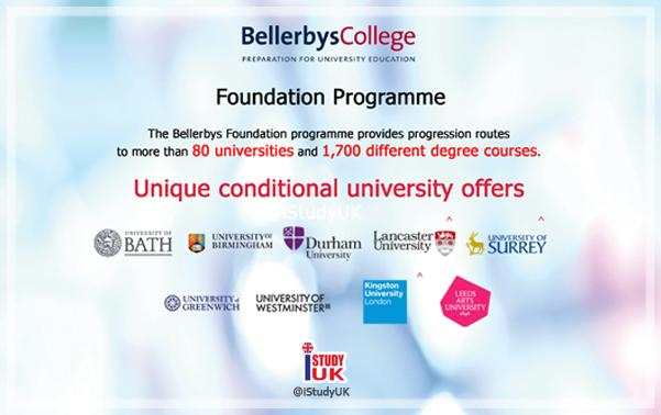 สมัครเรียนต่ออังกฤษ Foundation Bellerbys College โรงเรียนมัธยมเอกชนนานาชาติอันดับ 1 ในอังกฤษสมัคร Foundation Bellerbys College กับ เอเยนซี่ I Study UK ปรึกษาฟรีดูแลตลอดระยะเวลาในต่างแดน