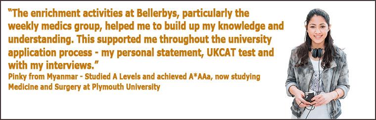 สมัครเรียนต่อ A-Level or Foundation เพื่อสมัครเรียนต่อปริญญาตรีแพทย์ ทันตกรรม และสัตวแพทย์ ประเทศอังกฤษ Medicine in UK at Bellerbys College