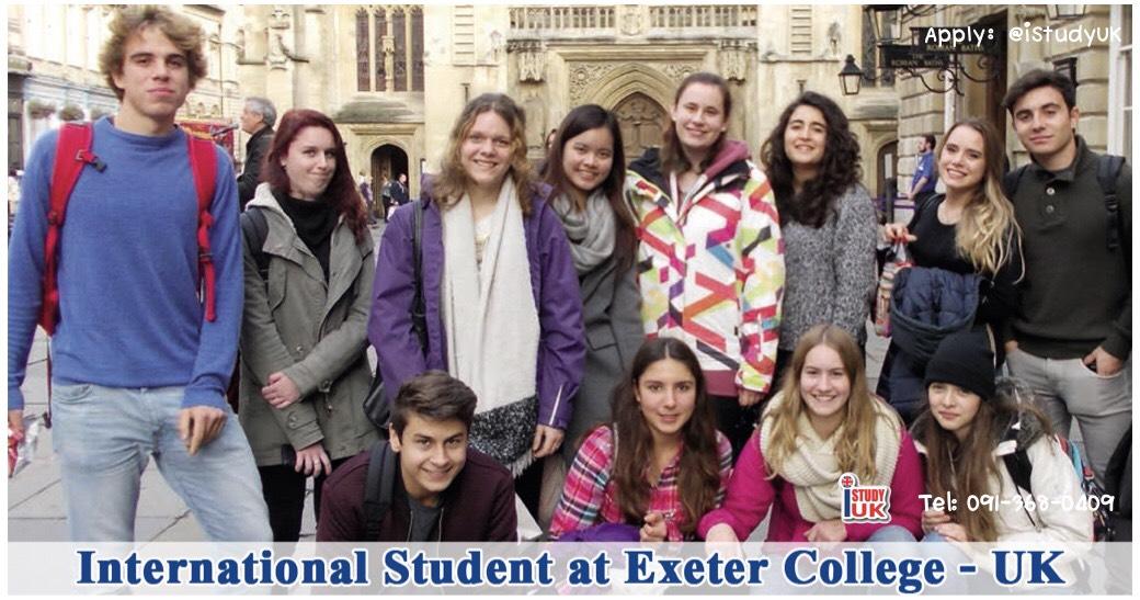 การดูแลนักเรียนต่างชาติ Exeter College เรียนต่อ A-Level, IB and Foundation ที่ประเทศอังกฤษ ณ Exeter College UK