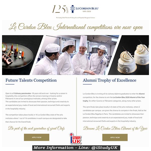 แข่งทำอาหาร ฉลอง Le Cordon Bleu ครบรอบ 125 ปี