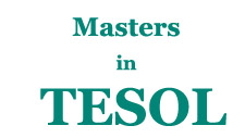 January 2016 Intake - Masters in TESOL at UK University