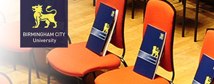 หลักสูตรเปิดเดือนมกราคม at Birmingham City University - January Intake 2016