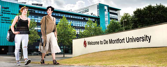 De Montfort University DMU Leicester city