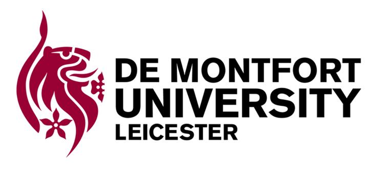 De Montfort University DMU Leicester Logo