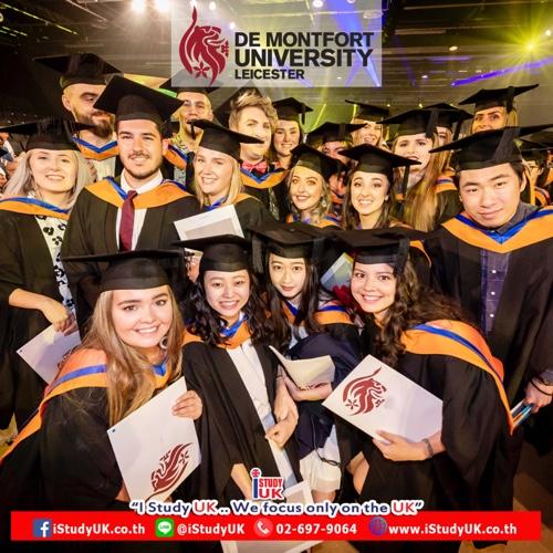January 2020 DMU University UK DMU มหาวิทยาลัยดีในเมืองเมสเตอร์ประเทศอังกฤษ เปิดหลักสูตรให้เรียนต่อปริญญาโทประเทศอังกฤษรอบ January 2020 Intake De Montfort University DMU Leicester UK