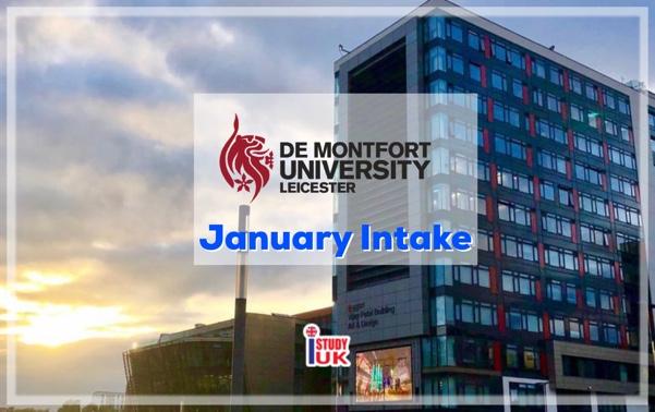 January 2020 intake Study UK เรียนต่อปริญญาโทประเทศอังกฤษ De Montfort University DMU Leicester UK