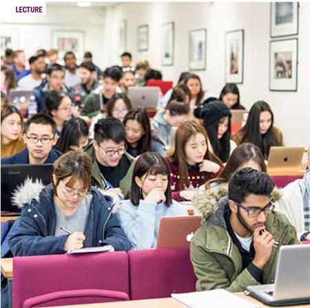 เรียนต่อประเทศอังกฤษระดับ Foundation / Pre-masters เตรียมเรียนต่อป.ตรี ป.โทท็อปยูประเทศอังกฤษ Durham University Top UK university Rank - ห้อง lecture เรียนต่อ Foundation / Pre-masters กับ เอเยนซี่ I Study UK