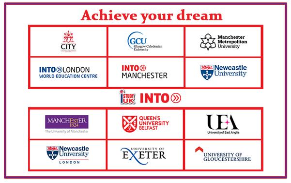 สมัครเรียนต่อ INTO University UK ปริญญาตรี ปริญญาโทประเทศอังกฤษ