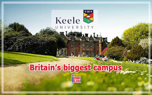 สมัครเรียนต่อปริญญาโท ปริญญาตรี ที่ Keele University ประเทศอังกฤษ มหาวิทยาลัยอังกฤษดีและค่าเรียนไม่แพง กับ เอเยนซี่ I Study UK ปรึกษาฟรีและวีซ่านักเรียนอังกฤษ