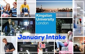 หลักสูตรเปิดเรียนต่ออังกฤษเดือนมกราคม 2019 at Kingston University London - January Intake 2019