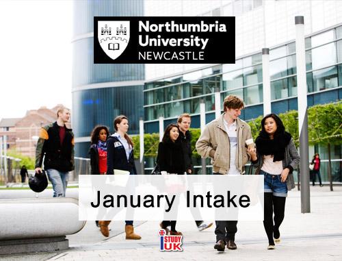 หลักสูตรเปิดเดือนมกราคม at Northumbria University - January Intake 2019