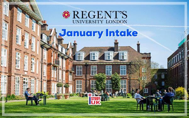 เรียนต่อ ป โทอังกฤษเดือนมกราคม 2562 at Regent's University London, UK - January Intake 2019