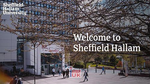 เรียนต่ออังกฤษ รอบมกราคม 2562 - January 2019 intake Sheffield Hallam University