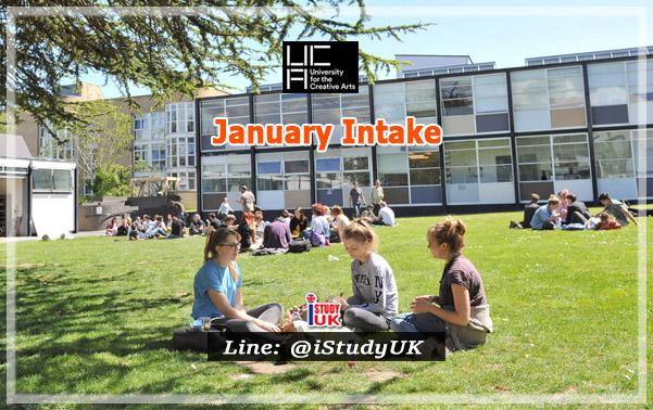 สมัครเรียนปริญญาโทปริญญาตรีอังกฤษลอนดอน January Intake at UCA - University for the Creative Arts UK January 2021 กับเอเจนซี่เรียนต่ออังกฤษ I Study UK...We focus only UK