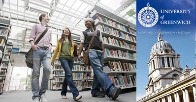 สมัครเรียนต่อประเทศอังกฤษเดือนมกราคม 2563 at University of Greenwich - January Intake 2020