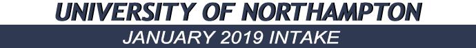 เรียนต่อโทอังกฤษ January 2019 Intake of University of Northampton