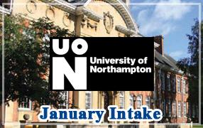 เรียนต่อ ป โทอังกฤษเดือนมกราคม 2562 at University of Northampton - January Intake 2019