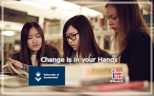 สมัครเรียนต่อปริญญาตรีและปริญญาโทประเทศอังกฤษ ที่ University of Sunderland ที่ Sunderland หรือ London