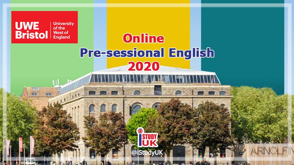 ได้คะแนน IELTS 4.5 5.0 5.5 6.0 ต้องเรียนเรียนต่ออังกฤษ Online pre-sessional english course UWE Bristol นานเท่าไหร่ก่อนเรียนต่อปริญญาตรีและปริญญาโท Bristol UK 2020/2021
