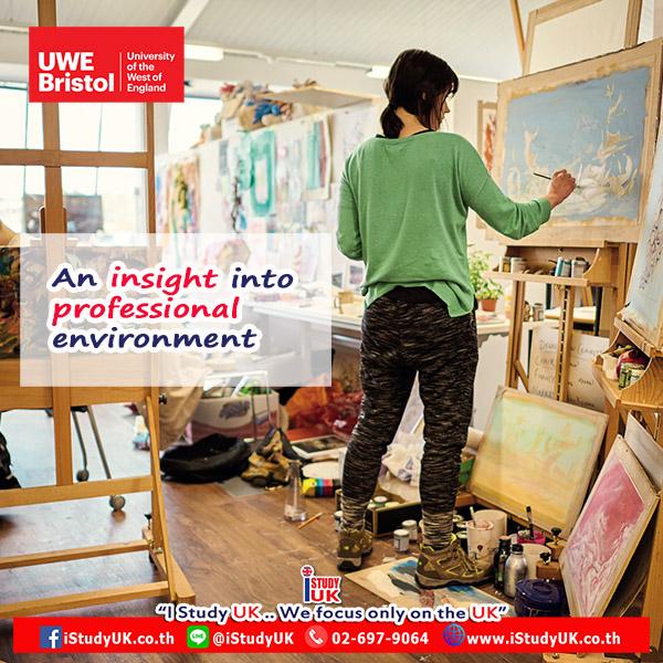 สมัครเรียนต่อปริญญาตรี Graphic Design ที่ UWE Bristol ประเทศอังกฤษ กับ เอเยนซี่ I Study UK ปรึกษาฟรีและวีซ่านักเรียนอังกฤษ