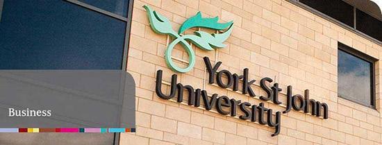 หลักสูตรเปิดเดือนมกราคม 2562 at York St John University - January Intake 2019