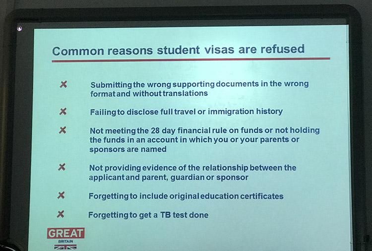 ยื่นวีซ่านักเรียนอังกฤษ วีซ่าท่องเที่ยวอังกฤษ ต้องใช้เอกสารแปลไทยเป็นอังกฤษทุกครั้ง